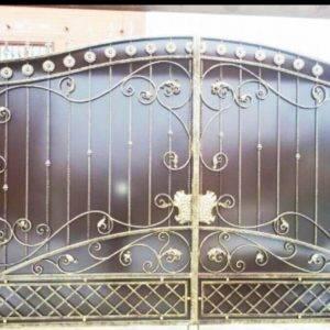 Кованые ворота V-10