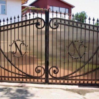 Кованые ворота V-14