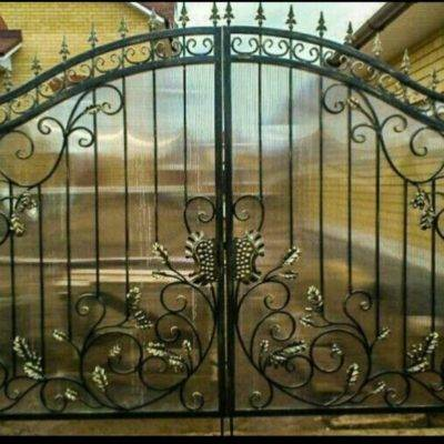 Кованые ворота V-20