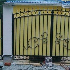Кованые ворота V-7