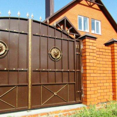 Кованые ворота V-5