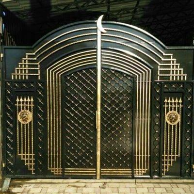 Кованые ворота V-1