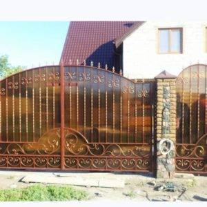 Кованые ворота V-19
