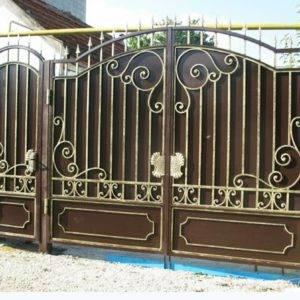 Кованые ворота V-18