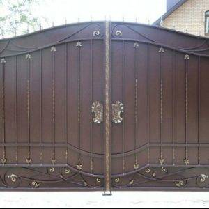 Кованые ворота V-4