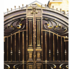 Кованые ворота V-70