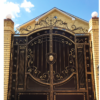 Кованые ворота V-65