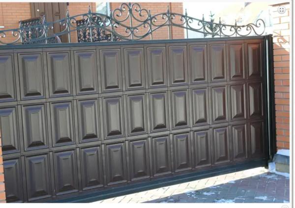 Кованые ворота V-48