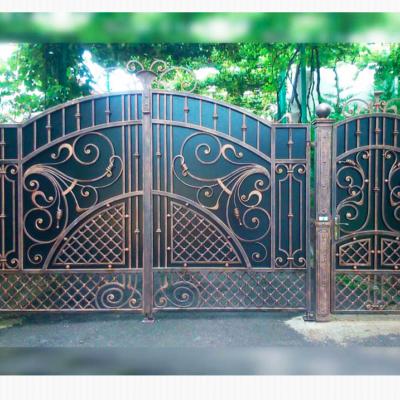Кованые ворота V-45