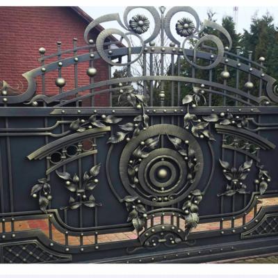 Кованые ворота V-43