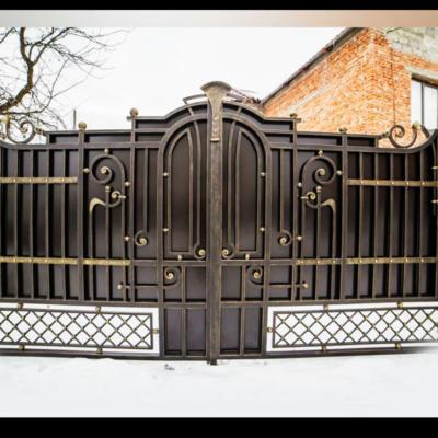 Кованые ворота V-39