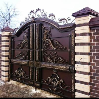 Кованые ворота V-38