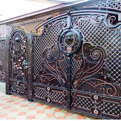 Кованые ворота V-33