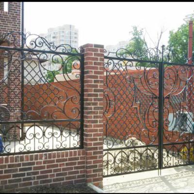 Кованые ворота V-29