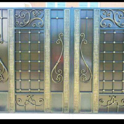 Кованые ворота V-26