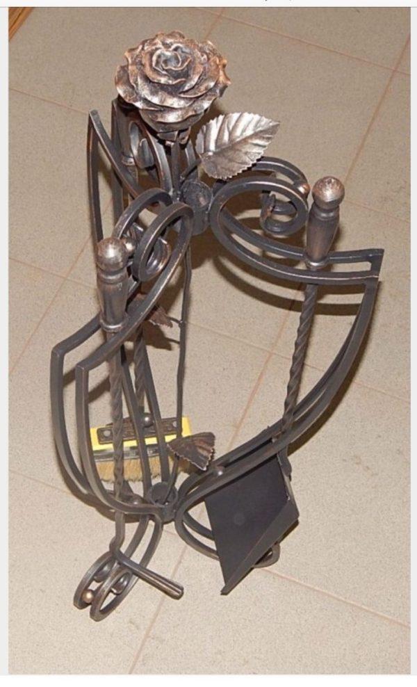 Кованый каминный набор Кн-14