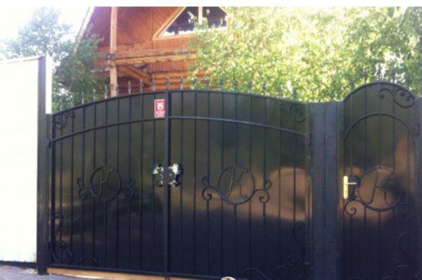 Кованые ворота V-24