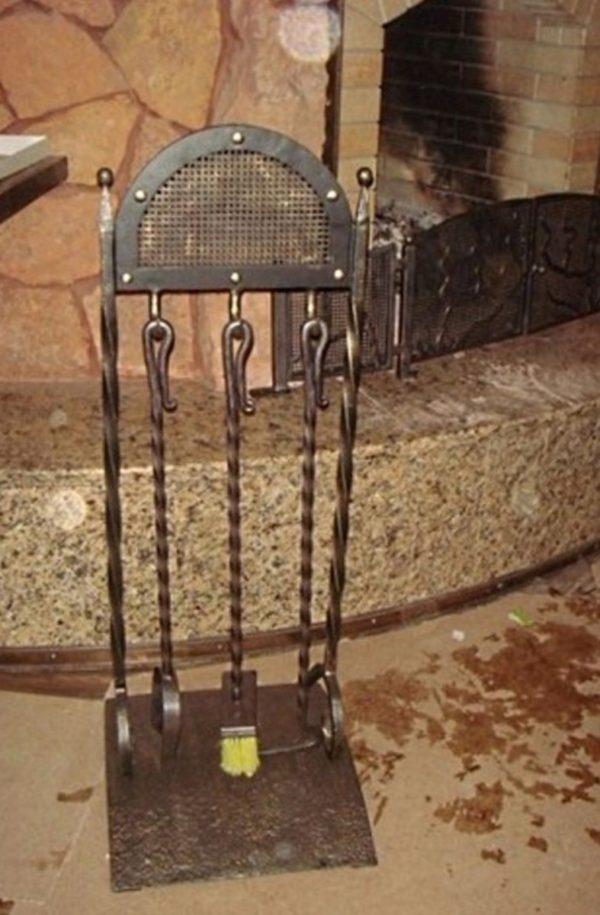 Кованый каминный набор Кн-4