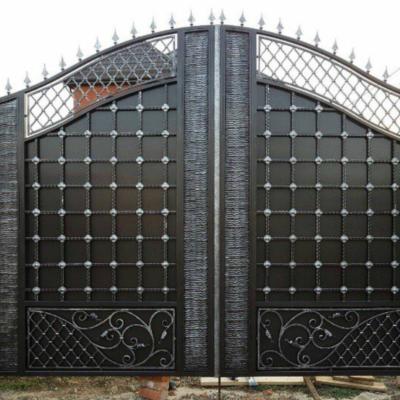 Кованые ворота V-23