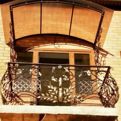 Кованые балконы Б56