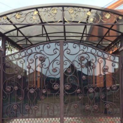 Кованые ворота V-15