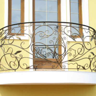 Кованые балконы Б12