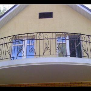 Кованые балконы Б13