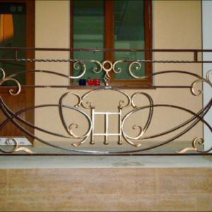 Кованые балконы Б19