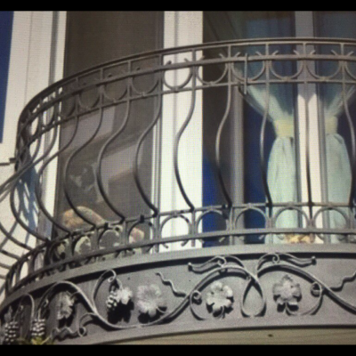 Кованые балконы Б24