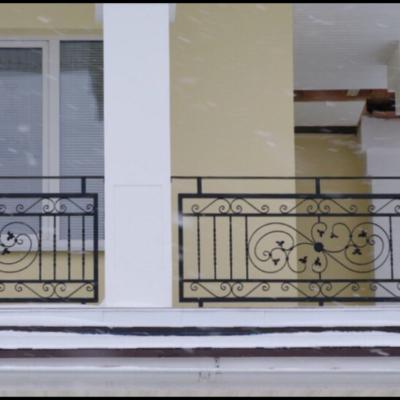 Кованые балконы Б25