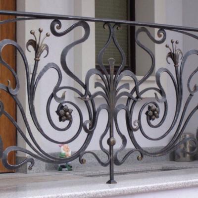 Кованые балконы Б33