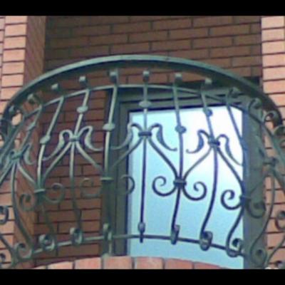 Кованые балконы Б37