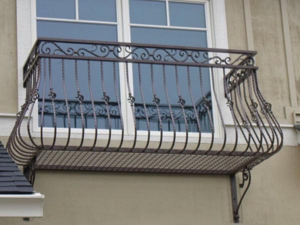 Кованые балконы Б41