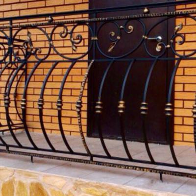 Кованые балконы Б45