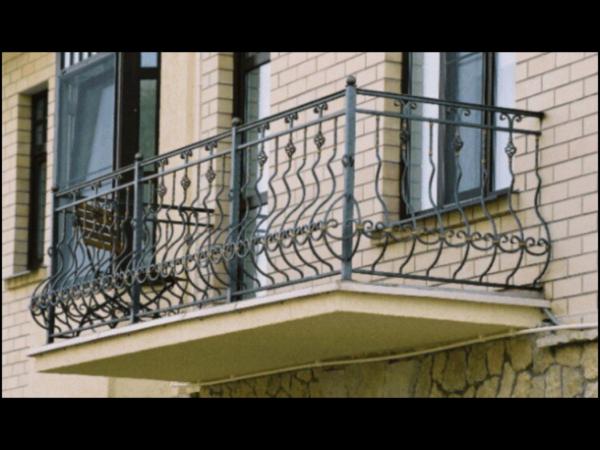 Кованые балконы Б47
