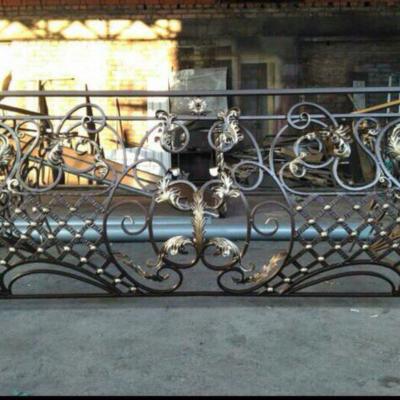 Кованые балконы Б6