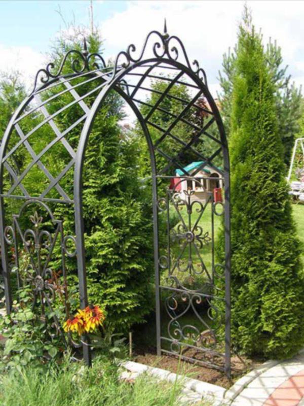 Садовая арка А14