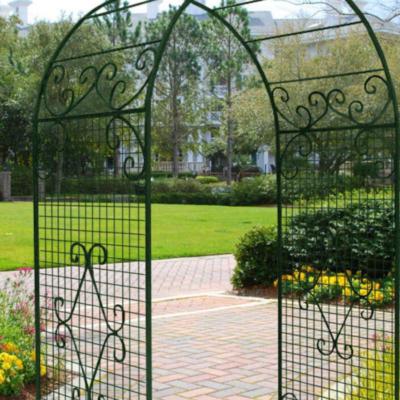 Кованая садовая арка А-8