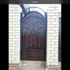 Кованые ворота V-3