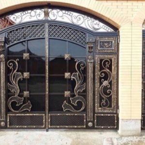 Кованые ворота V-21