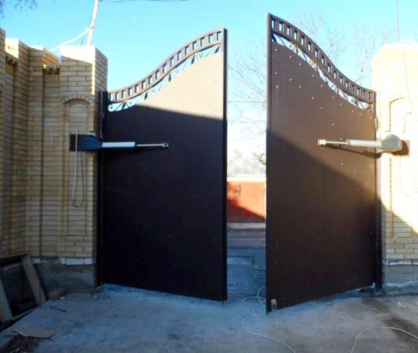 Автоматические ворота Ав10