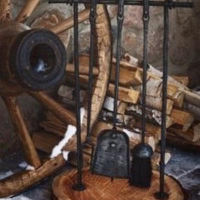 Кованые каминные наборы Кн-20