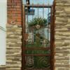 Кованые ворота V-51