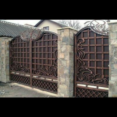 Кованые ворота V-55