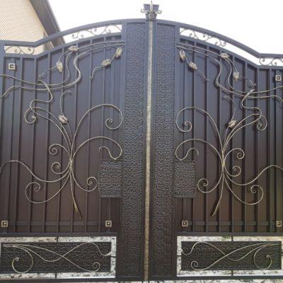 Кованые ворота V-96