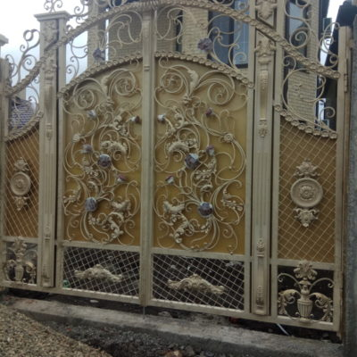 Кованые ворота V-107