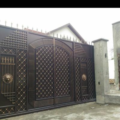 Кованые ворота V-99