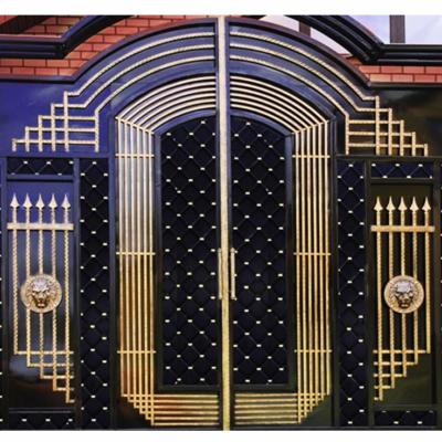 Кованые ворота V-80
