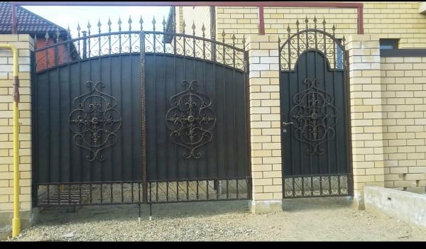 Кованые ворота V-93