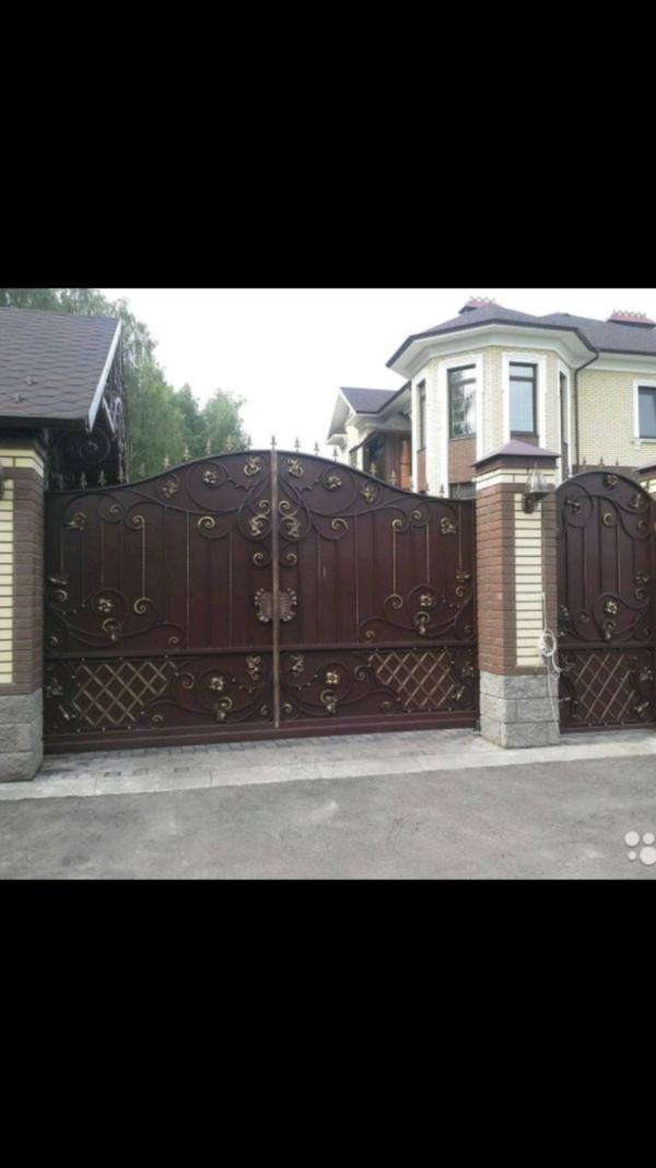 Кованые ворота V-92